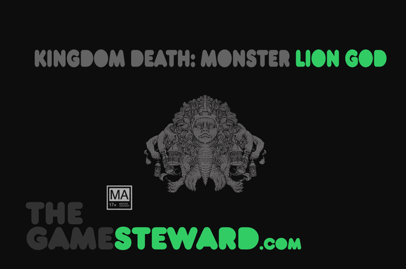 Kingdom Death Monster: Lion God Expansion Retail Board Game Expansion Kingdom Death