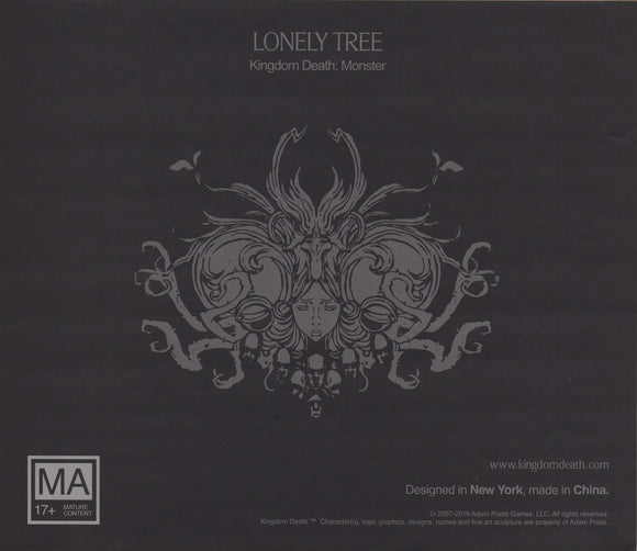 Kingdom Death Monster: Lonely Tree Expansion Retail Board Game Expansion Kingdom Death