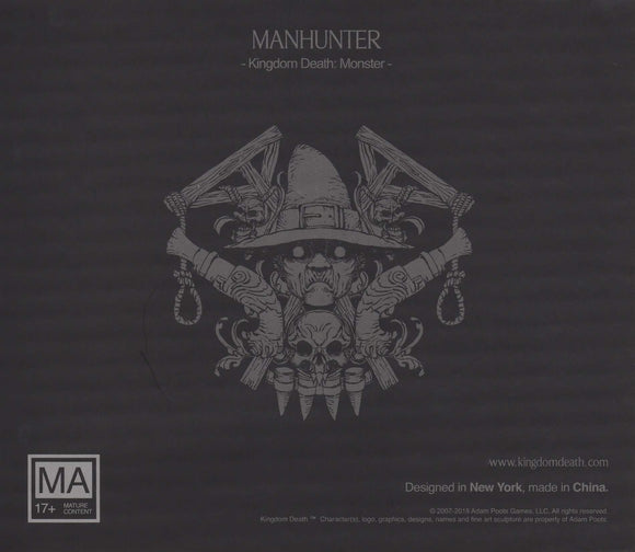 Kingdom Death Monster: Manhunter Expansion Retail Board Game Expansion Kingdom Death