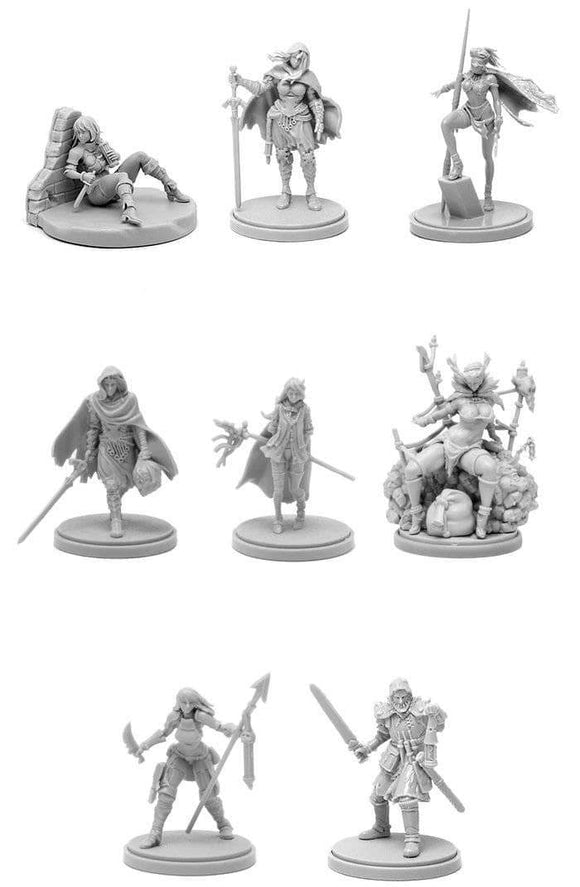 Kingdom Death Monster: Promos of Death (Kickstarter Pre-Order Special) Kickstarter Board Game Supplement Kingdom Death