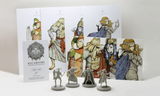 Kingdom Death Monster: Role Survivors (Kickstarter Pre-Order Special) Kickstarter Board Game Supplement Kingdom Death KS000877A