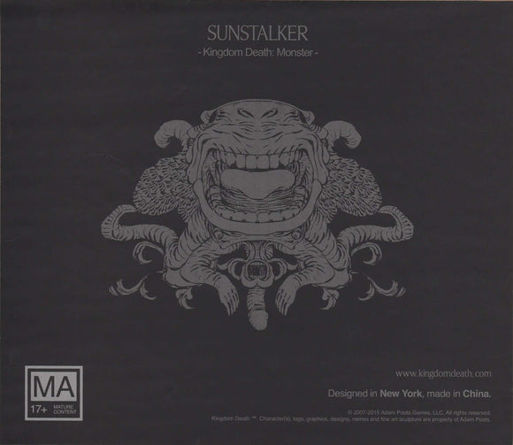 Kingdom Death Monster: Sunstalker Expansion Retail Board Game Expansion Kingdom Death