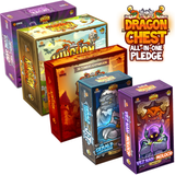 Kingdom Rush: Dragon Chest All-In Pledge Bundle (Kickstarter Pre-Order Special) Kickstarter Board Game Lucky Duck Games KS000967A