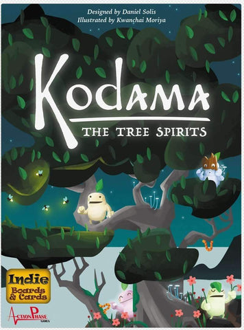 Kodama: The Tree Spirits Retail Board Game Action Phase Games 0792273251271 KS000205