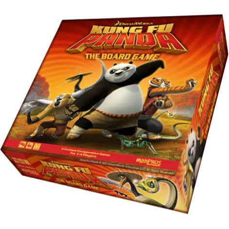 Kung Fu Panda plus The Masters Miniatures and Player boards (Kickstarter Pre-Order Special) Kickstarter Board Game Modiphius Entertainment