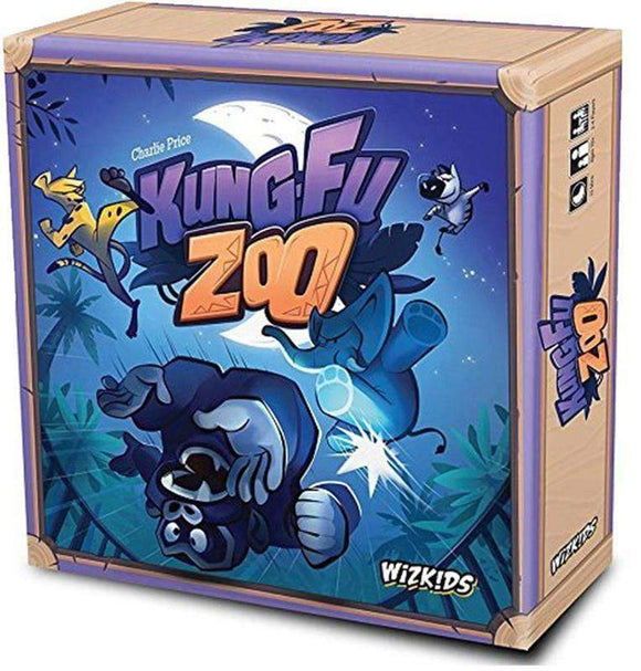 Kung-Fu Zoo Retail Board Game The Game Steward