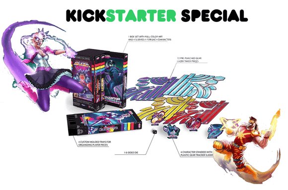 Lazer Ryderz (Kickstarter Special) Kickstarter Board Game Greater Than Games (Fabled Nexus) 0798304339338 KS000631