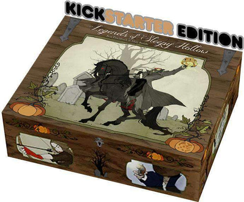 Legends of Sleepy Hollow (Kickstarter Pre-Order Special) Kickstarter Board Game Greater Than Games (Dice Hate Me Games) KS000722