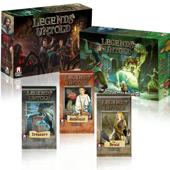 Legends Untold: Caves and Sewers (Kickstarter Pre-Order Special) Kickstarter Board Game Inspiring Games