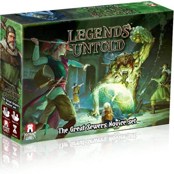 Legends Untold: The Great Sewers Novice Set Ding & Dent (Kickstarter Special) Kickstarter Board Game Inspiring Games