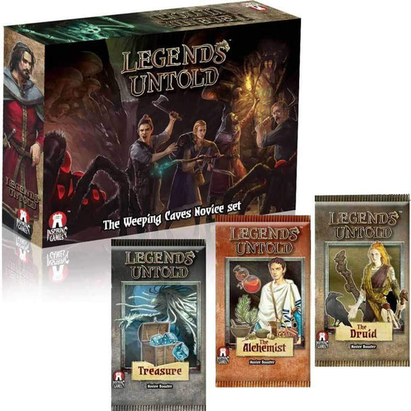 Legends Untold: The Weeping Caves Novice Set (Kickstarter Special) Kickstarter Board Game Inspiring Games KS000632C
