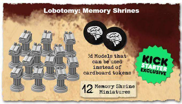 Lobotomy: Memory Shrine Miniatures Accessory (Kickstarter Special) Kickstarter Board Game Expansion Titan Forge Games