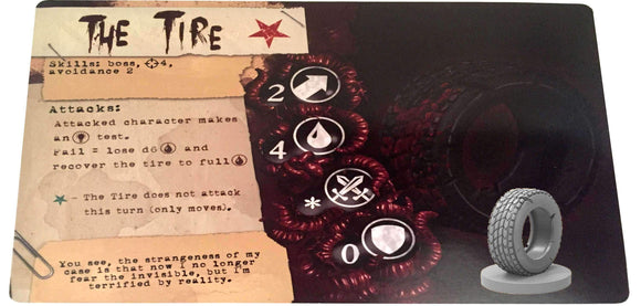 Lobotomy: The Tire Expansion Retail Board Game Expansion Titan Forge Games