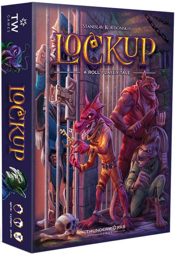 Lockup: A Roll Player's Tale (Kickstarter Special) Kickstarter Board Game Thunderworks Games KS000948A