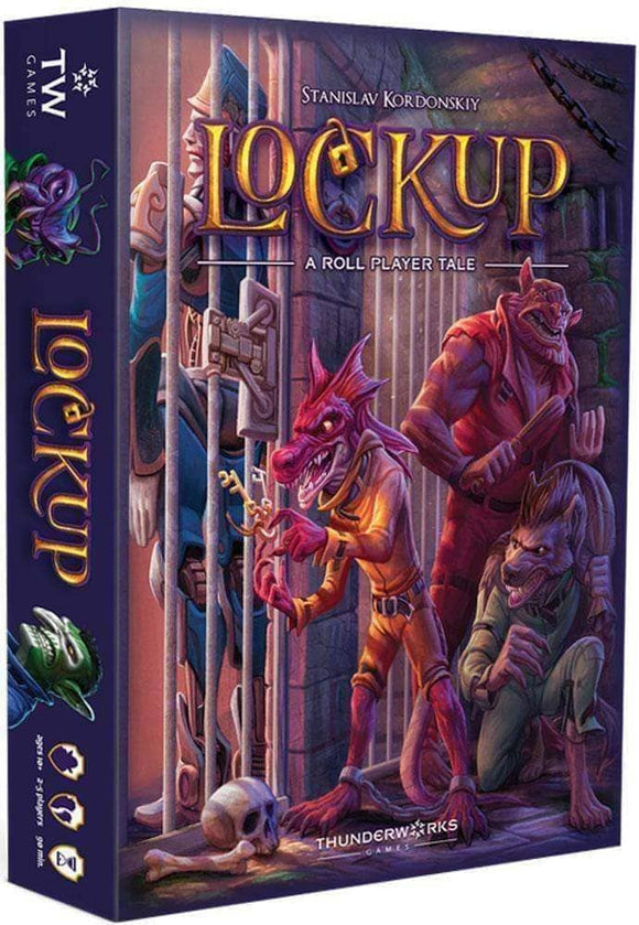 Lockup: A Roll Player's Tale Ding & Dent (Retail Edition) Retail Board Game Thunderworks Games 680168938546 KS000948E
