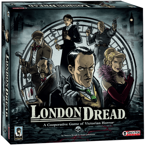 London Dread plus London Dread Promo Pack Ding & Dent Bundle Retail Board Game Grey Fox Games 616909967513 KS000918B