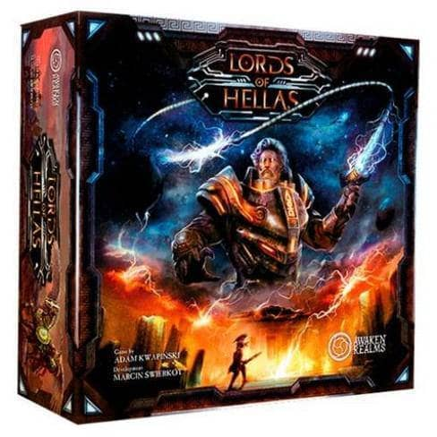 Lords of Hellas Ding and Dent (Retail Edition) Retail Board Game Awaken Realms KS000705E