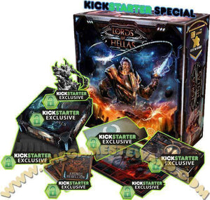 Lords of Hellas: Titan Pledge Edition (Kickstarter Pre-Order Special) Kickstarter Board Game Awaken Realms