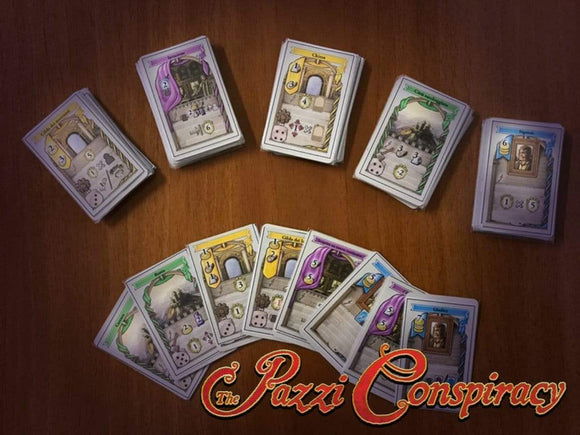 Lorenzo Il Magnifico: The Pazzi Conspiracy Expansion (Kickstarter Pre-Order Special) Kickstarter Board Game Expansion Cranio Creations