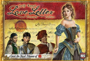 Love Letter: Premium Edition Retail Card Game Alderac Entertainment Group (AEG). Kaissa Chess Games Pegasus Spiele 0729220051226 KS000789