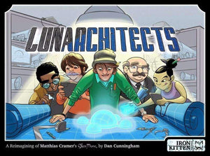 Lunarchitects board game the game steward lunarchitects the euro style boardgame of moonbase planning kickstarter special kickstarter board malvernweather Choice Image