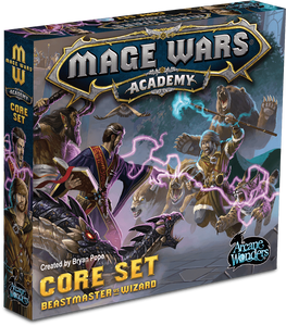 Mage Wars Academy Core Set Retail Board Game Arcane Wonders