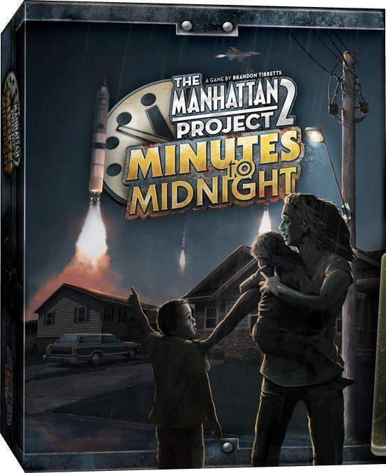 Manhattan Project 2: Minutes to Midnight with Mini Expansion (Kickstarter Special) Kickstarter Board Game Minion Games