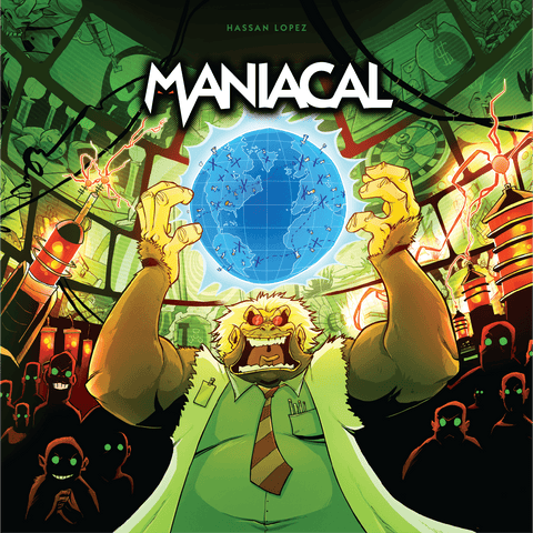 Maniacal Bundle (Kickstarter Special) Board Game Geek, Kickstarter Games, Games, Kickstarter Board Games, Board Games, Eagle Gryphon Games, Maniacal, Kickstarter Board Games, Action Point Allowance System, Card Drafting Eagle Gryphon Games KS001070A