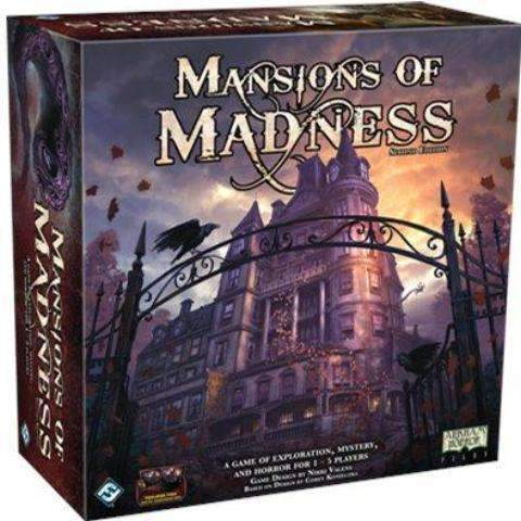 Mansions of Madness - Second Edition Retail Board Game Arclight Asterion Press, Edge Entertainment, Fantasy Flight Games 0841333101213 KS000794