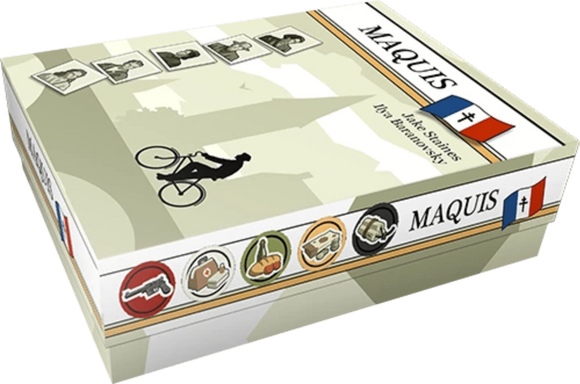 Maquis: Maquisard Pledge Level Bundle (Kickstarter Pre-Order Special) Board Game Geek, Kickstarter Games, Games, Kickstarter Board Games, Board Games, Web published , Side Room Games, Maquis, The Games Steward Kickstarter Edition Shop, Worker Placement Games (Web published)