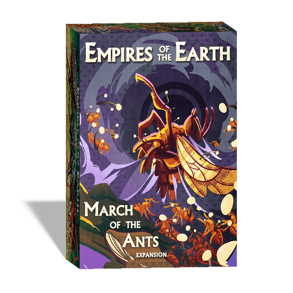 March of the Ants: Empires of the Earth plus Ant Meeples Bundle (Kickstarter Pre-Order Special) Kickstarter Board Game Expansion Weird City Games KS000077C