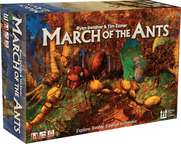 March of the Ants (Kickstarter Special) Kickstarter Board Game Weird City Games