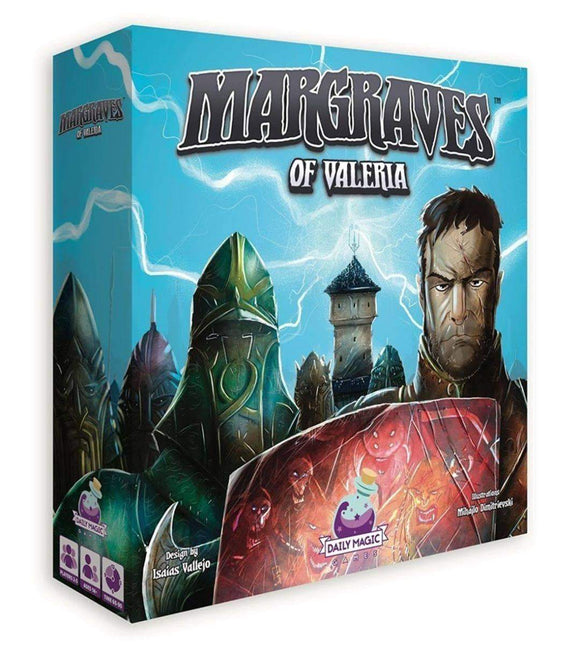 Margraves of Valeria Plus Metal Coin Set Bundle (Kickstarter Pre-Order Special) Board Game Geek, Kickstarter Games, Games, Kickstarter Board Games, Board Games, Cosmodrome Games, Smartphone Inc, The Games Steward Kickstarter Edition Shop, Action Queue, Area Majority Influence Daily Magic Games