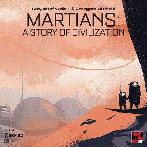 Martians: A Story of Civilization (Kickstarter Special) Kickstarter Board Game REDIMP GAMES 5904730312059 KS000046