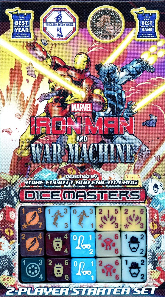 Marvel Dice Masters: Ironman and War Machine Starter Set Retail Card Game WizKids 0634482724231 KS000676