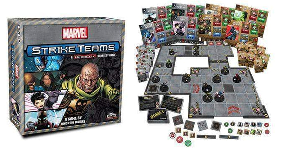 Marvel Strike Teams Retail Board Game Wizkids 0634482734513 KS000985A