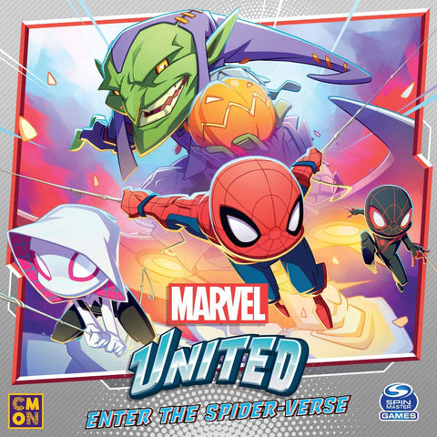 Marvel United: Enter the Spider-verse Bundle (Kickstarter Pre-Order Special) Kickstarter Board Game Expansion CMON Limited, Spin Master Ltd. KS000985C