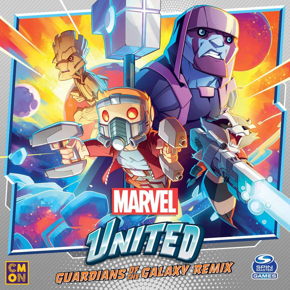 Marvel United: Guardians of The Galaxy Remix Bundle (Kickstarter Pre-Order Special) Kickstarter Board Game Expansion CMON Limited, Spin Master Ltd. KS000985D