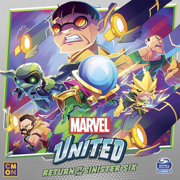 Marvel United: Return of The Sinister Six Bundle (Kickstarter Pre-Order Special) Kickstarter Board Game CMON Limited, Spin Master Ltd. KS000985E