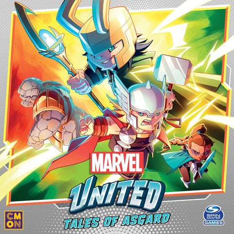Marvel United: Tales of Asgard Bundle (Kickstarter Pre-Order Special) Kickstarter Board Game CMON Limited, Spin Master Ltd. KS000985F