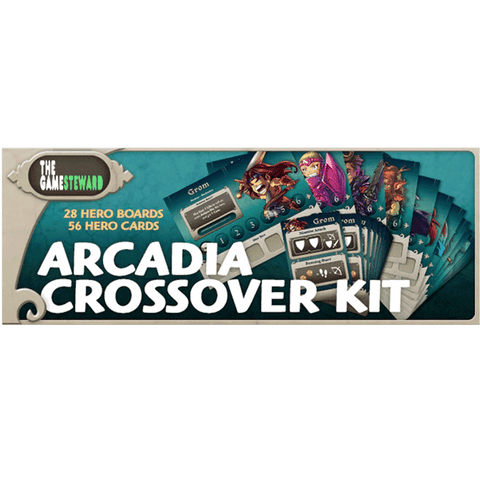 Masmorra: Arcadia Crossover Kit Retail Board Game CMON Limited 0889696002150 KS000147C