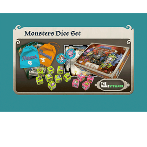 Masmorra: Monsters Dice Set Retail Board Game CMON Limited