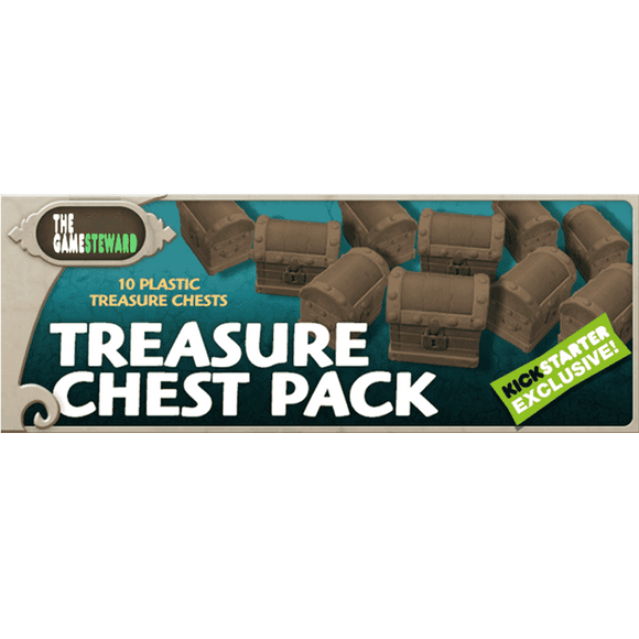Masmorra: Treasure Chest Pack (Kickstarter Special) Kickstarter Board Game CMON Limited