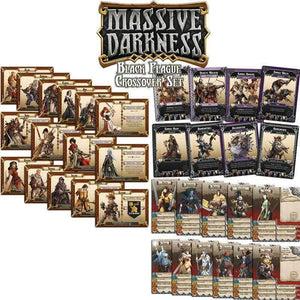 Massive Darkness Black Plague Crossover (Kickstarter Special) Kickstarter Board Game CMON Limited 0889696002150 KS000068A
