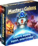 Master of the Galaxy: Deluxe Edition Spacefarer Pledge plus Faster Than Light Expansion (Kickstarter Special) Kickstarter Board Game Ares Games Igrology KS000826A