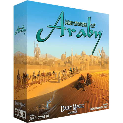 Merchants of Araby (Kickstarter Special) Kickstarter Board Game Daily Magic Games