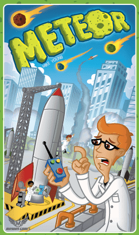 Meteor Retail Board Game Mayday Games 0080162887893 KS000644