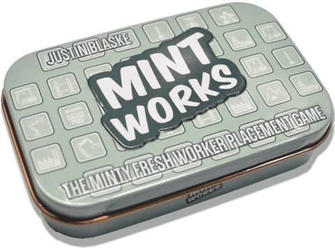 Mint Works (Retail Edition) Retail Board Game Five24 Labs 0030656819152 KS000021
