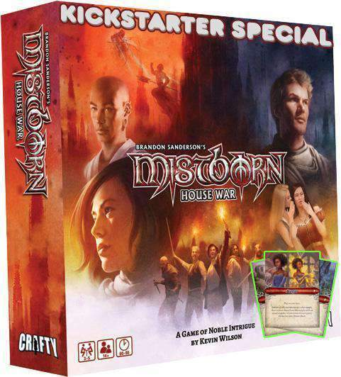 Mistborn: House War Prestige Edition (Kickstarter Special) Kickstarter Board Game Crafty Games 0721867512689 KS000062