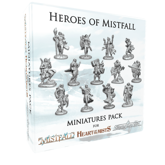 Mistfall: Heroes of Mistfall Miniatures (Kickstarter Special) Kickstarter Board Game Supplement Asmodee